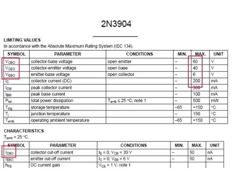 transistor beta value datasheet 2n3904 transistor datasheet beta value 28 images 2n3904 datasheet npn lifier transistor