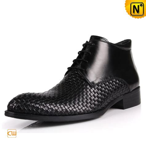 mens lace up dress boots black cw763391