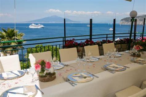 terrazza delle sirene sorrento our wedding table set up picture of terrazza delle