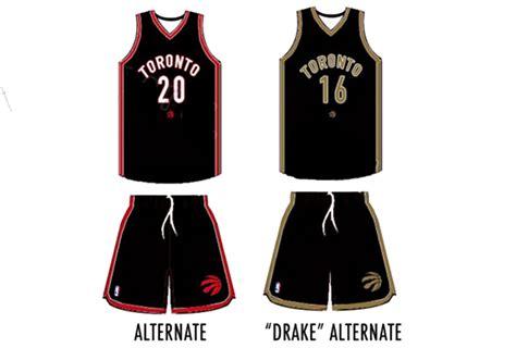 jersey design raptors raptors to wear drake basketball uniform next year