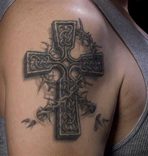 cross on shoulder tattoo celtic cross design ideas best 2015