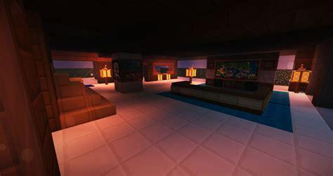 minecraft modern living room minecraft vanilla modern living map 01