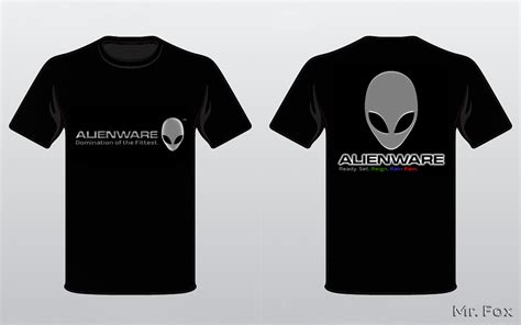 mr fox s alienware t shirt alienware arena