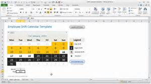 employee shift tracker excel template how it works youtube