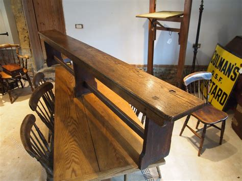 oak pew bench bench settle pew victorian oak langley school antiques atlas
