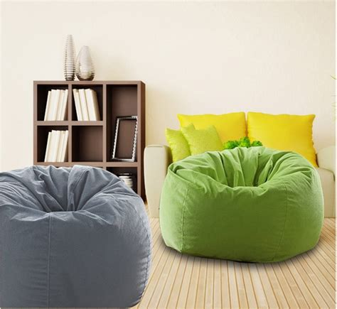 bean bag living room fashion leisure styrofoam modern beanbag sofa living room