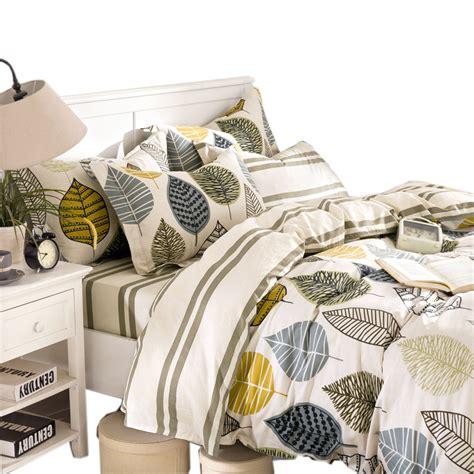 Duvet Shop Aliexpress Buy Cotton Duvet Cover Set Bedding Set 4