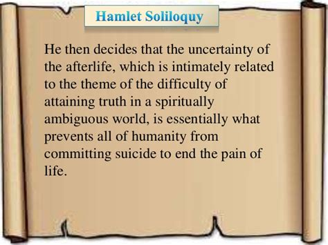 hamlet themes impossibility of certainty hamlet test review