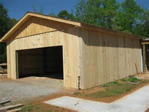 garage pole barn kits arbor wood products