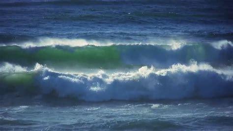 ocean waves moving  relaxing screensaver youtube