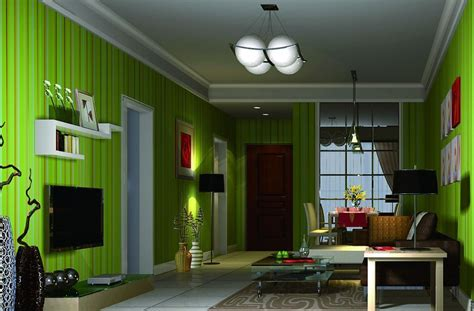 Living Room Ideas Green Walls by Green Living Room Wall Design 3d House