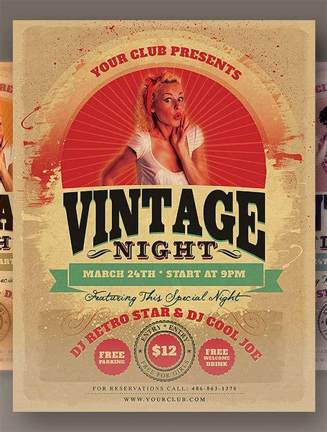 Free Vintage Poster Templates 13 vintage posters designs ideas free premium