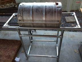 Custom Home Plans For Sale How To Make A Stainless Steel Grill From A Common Beer Keg