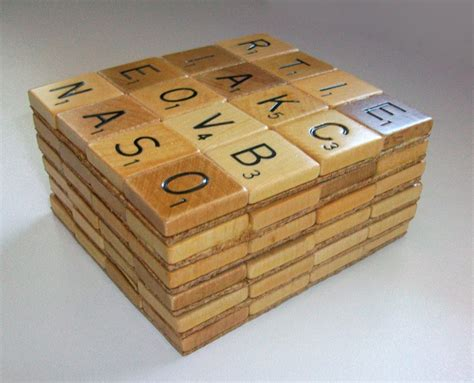 scrabble tile coasters items similar to scrabble coasters set of six on etsy