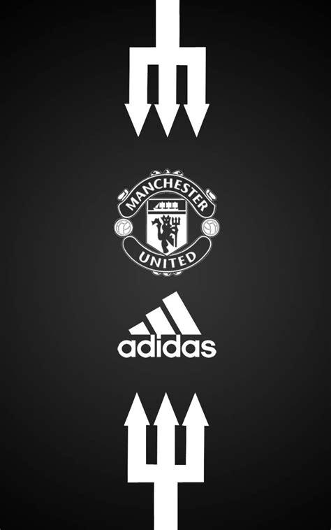 manchester united wallpaper black and white manchester united adidas android wallpaper black