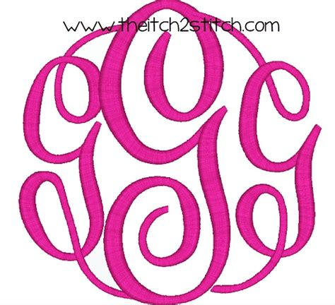 font design freeware free circle monogram fonts download www pixshark com