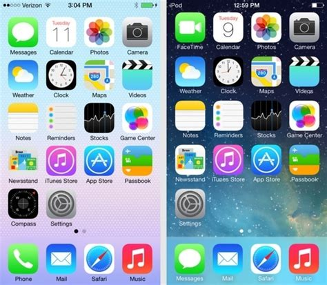 iphone 4s ios 7 homescreen wallpaper how to make your new ios 7 home screen less ugly