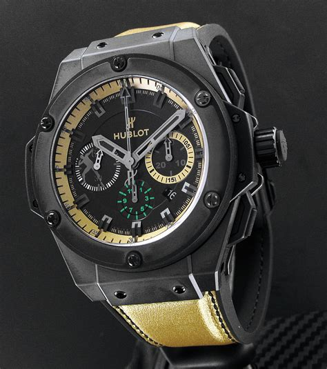 Hublot Spider King Power Leather 3 Colours running time olympic usain bolt gets his own hublot watchtime usa s no 1