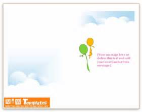 microsoft word birthday card template ms word templates birthday invitations
