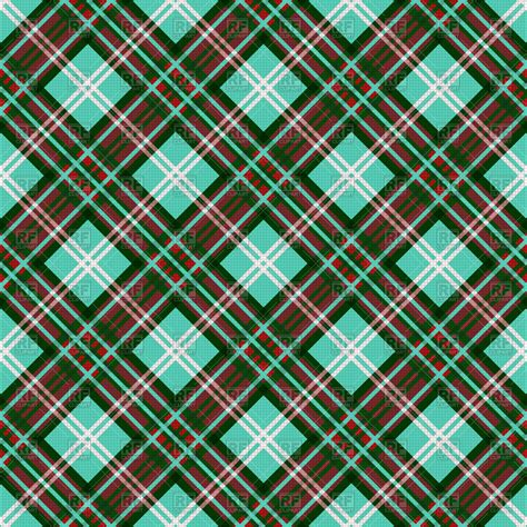 plaid design seamless diagonal blue plaid pattern vector image 105753