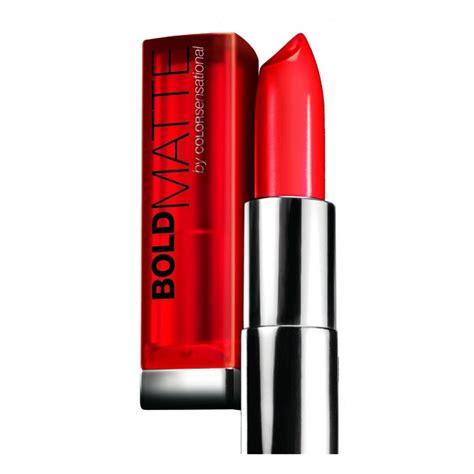 maybelline maybelline bold matte by color sensational review bulletin lipsticks