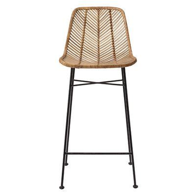 Grey Wicker Counter Stools by 25 Best Ideas About Rattan Bar Stools On