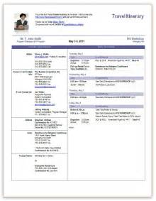 business itinerary template travel itinerary office templates travel