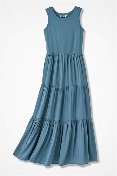 Tier Maxi Dress tiered maxi dress coldwater creek