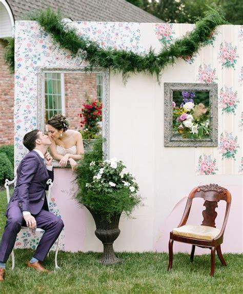 Decor Photobooth by 1001 Id 233 Es Pour Un Photobooth Mariage Cr 233 Atif Et Original