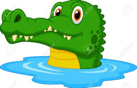 crocodile clipart crocodile in water clipart clipartxtras
