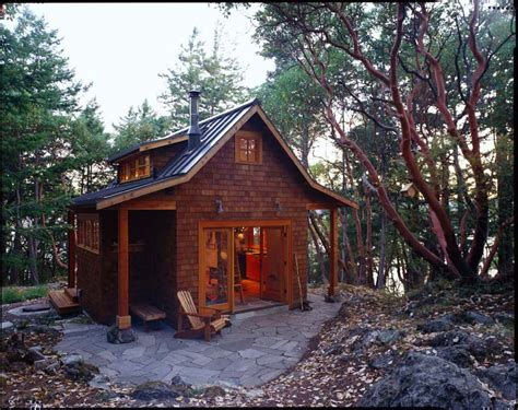 small cabin in the woods orcas island cabin david vandervort architects small