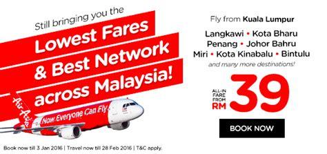 airasia flight promotion airasia 2016 promo fly to langkawi kota bahru penang