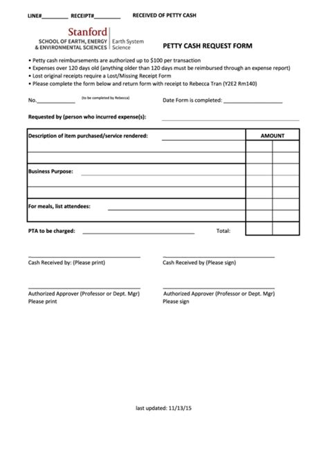 petty request form 61 petty form templates free to in pdf