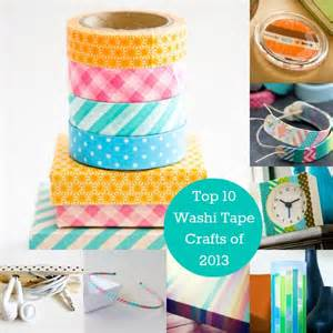 Washi Tape Crafts by Top 10 Washi Tape Crafts Of 2013 Washi Tape Crafts