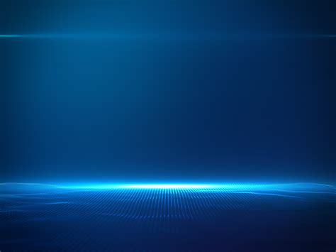 beautiful blue color beautiful blue particles with lens flare on blue gradient
