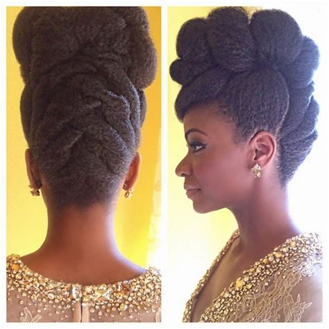 updo hairstyles natural hair teyonah parris fierce natural hair updo at the naacp