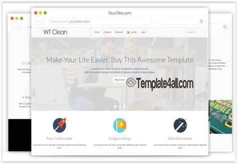 wt clean business corporate joomla template