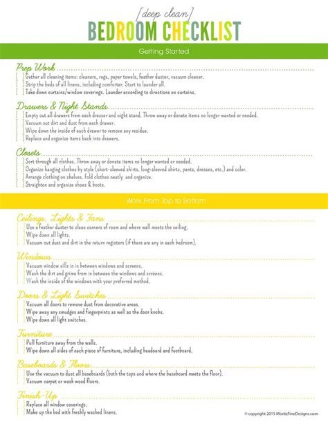 bedroom cleaning checklist best 25 bedroom cleaning ideas on pinterest how to declutter bedroom cleaning tips and how
