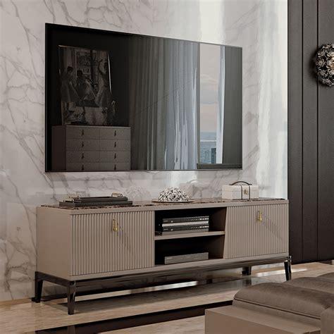 Tv Sideboard Modern by Italian Designer Deco Inspired Tv Media Sideboard