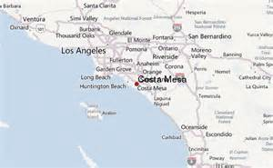 where is costa mesa california on the map costa mesa location guide