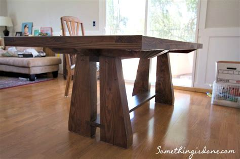 diy dining room table legs diy part 4
