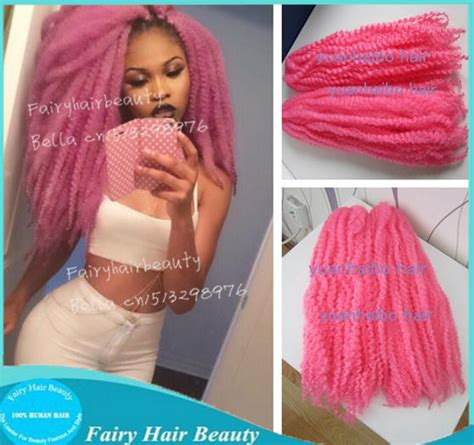cheap good quality marley hair stock 20 quot fold pink color synthetic fiber cheap pink