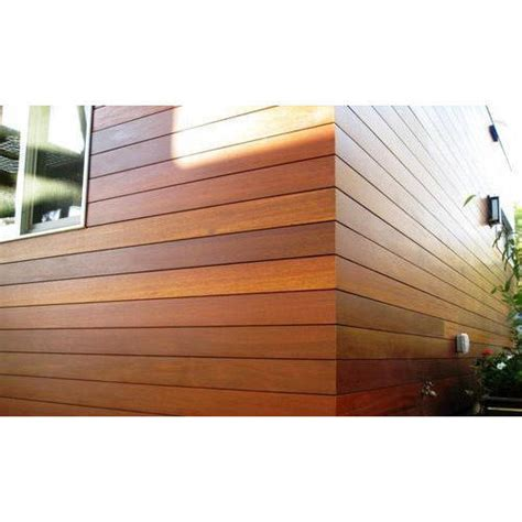 Ipe Wood Wall Cladding At Rs 350 Square Feet Wooden