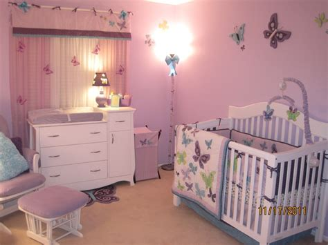 How To Decorate A Nursery Butterfly Nursery Decor For Baby Room Ideas With Wall Pink Colours And Cool Lighting Fixtures
