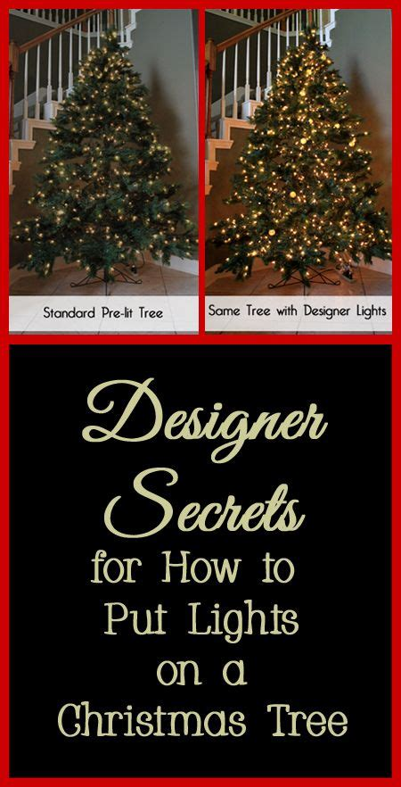 how to put lights on tree like a pro designer secrets for how to put lights on a tree
