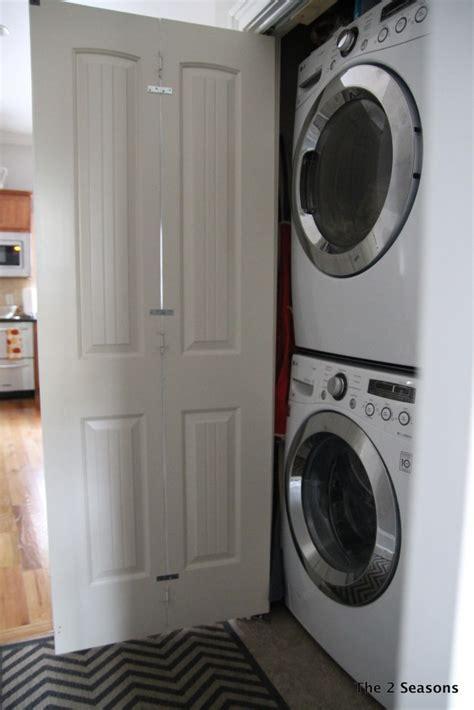 Change Bifold Door Regular Door by How To Turn Bi Fold Doors Into Doors