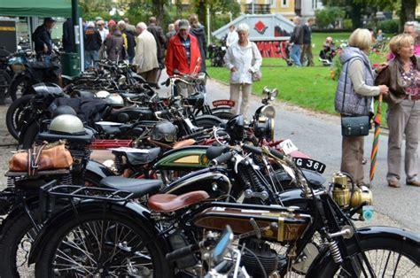 Motorrad Veteranen Club Attnang by Franz Josefs Fahrt In Bad Ischl Da Knatterten Und
