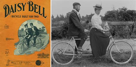 daisy bell a bicycle built for two harry dacre lyrics fin de cycle images musicales stories