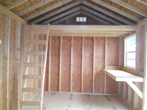 Garden Shed Floor Ideas Storage Shed Used Sheds Utility Side 10x16 6107 Fisher
