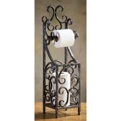 wrought iron siena toilet paper holder by toscana